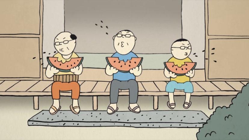 "WOWOW ""いいものゴロゴロ アニメ"""